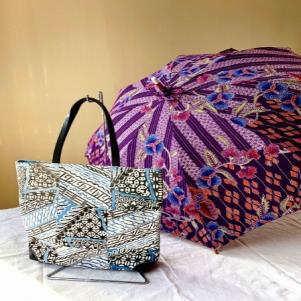 工房いまりバッグと傘のイメージ